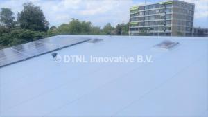 Nieuw dak met Alkorplan kunststof dakbedekking