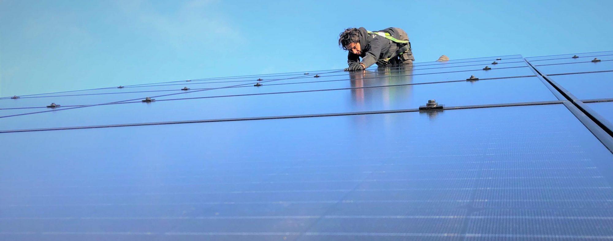 Energie besparen met zonnepanelen