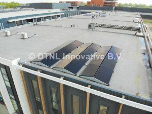 Zonnepanelen voor elektrische ketel
