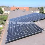 zonnepanelen op pvc dak