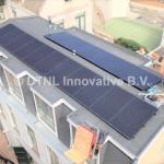 zonnepanelen op schuin bitumen dak