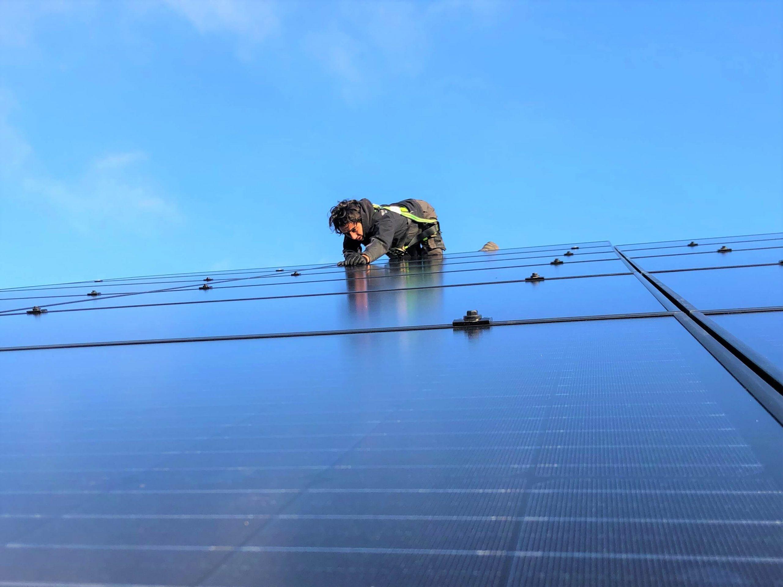 Zonnepanelen voor energiebesparing