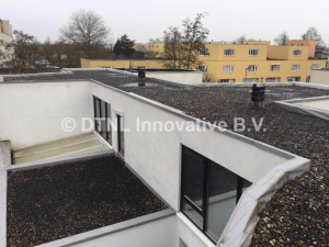 PVC dakbedekking met grind